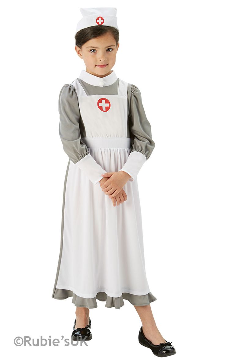 girls nurses costumes WW1 costumes florence nightingale costumes