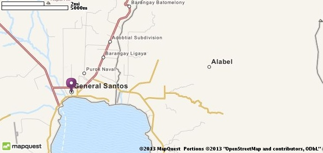 Map of General Santos, Philippines | MapQuest