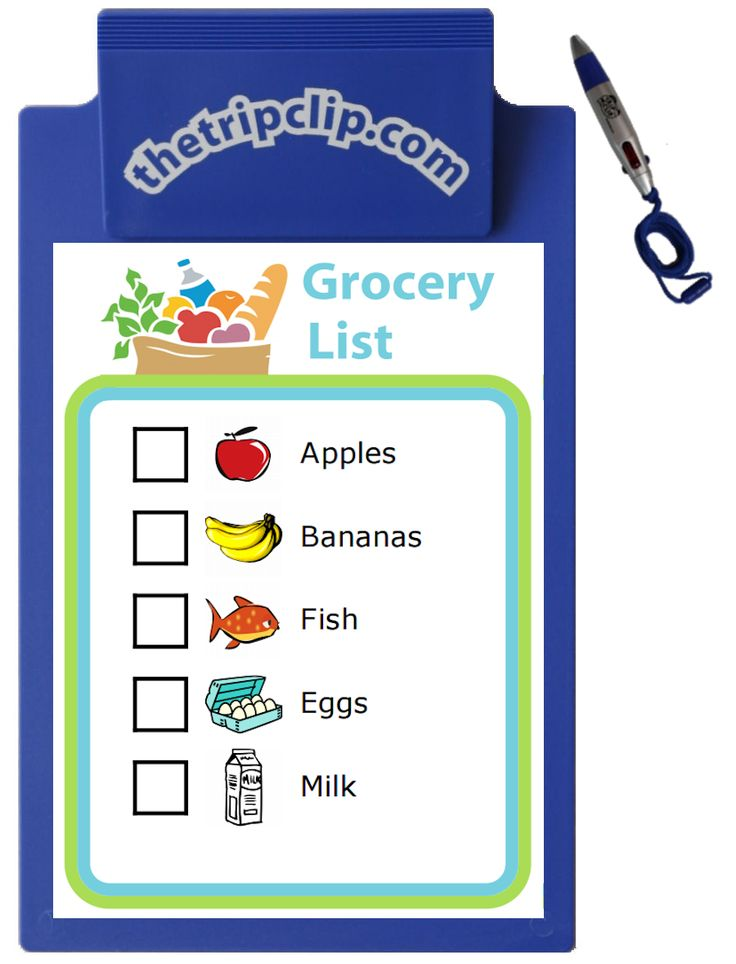 53 best Grocery Shopping With Kids images on Pinterest Grocery - grocery list word