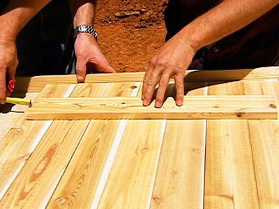 How to Make Rustic Wood Shutters : How-To : DIY Network