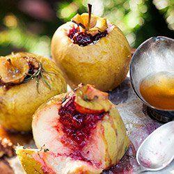 Jabłka pieczone na trzy sposoby | Kwestia Smaku