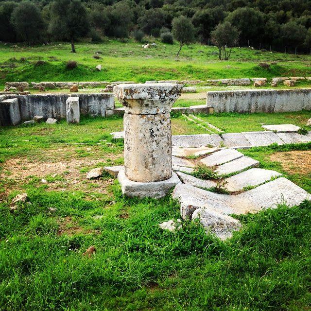 Ancient Troizina, a short excursion from Porto Heli #Troizina #Troezena #PortoCheli #Peloponnese