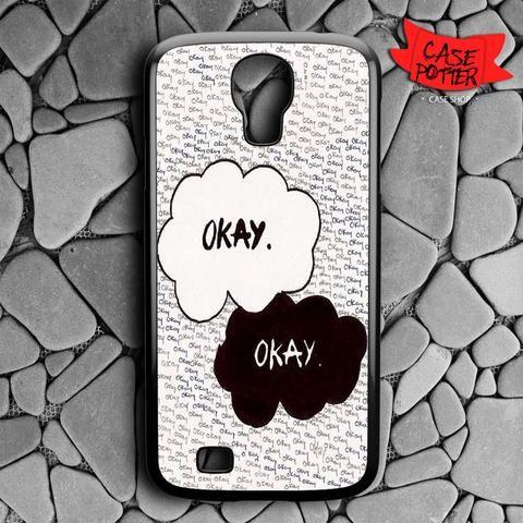 Okay John Green Samsung Galaxy S4 Black Case
