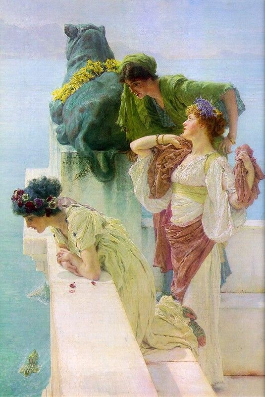 Lawrence Alma-Tadema art