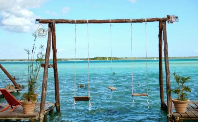 Siete cenotes, caminatas por la selva y el azul de la laguna de Bacalar. (Foto: Especial)