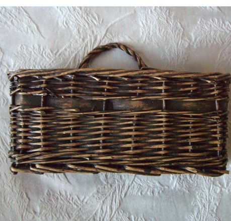 "Wicker 9"" Wall Mail Basket $11 