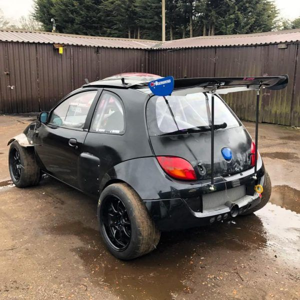 Ford Sportka With A Turbo 4g63 Inline Four And Evo 4wd Drivetrain