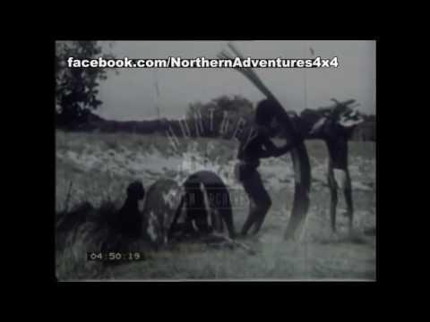 Aboriginal Bark Shelters - YouTube