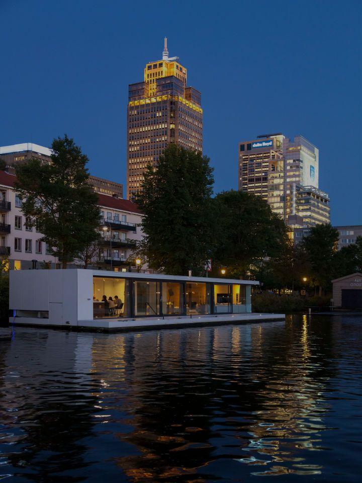 +31ARCHITECTS, Ewout Huibers · Watervilla Weesprerzijde  Amsterdam