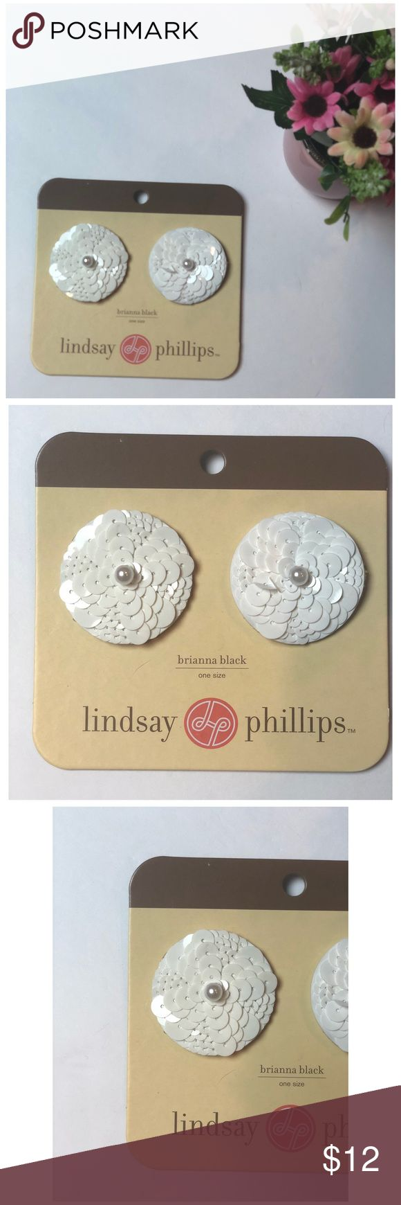 Lindsay Phillips White Flower Snaps With Pearl Lindsay Phillips Snap buttons. Beautiful White color with pearl accent in the middle. Matches any Lindsay Phillip snap shoes including flats and flip flops. Never used. Brand new packaging. Bundle with other snap kits in my closet to save!!!   Brianna Black Lindsay Phillips Shoes