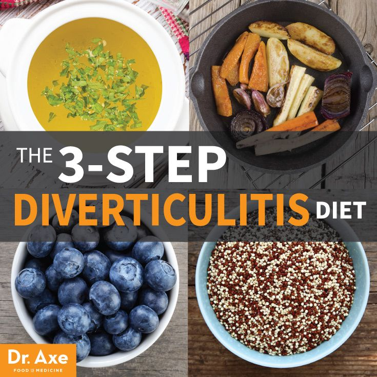 The 3-Step Healing Diverticulitis Diet &Treatment http://www.draxe.com #healthy #holistic #natural