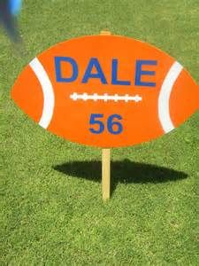 football yard signs - Yahoo Image Search Results