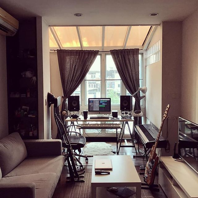 An Awesome Home Studio For Comfortable Producing By Enjoitae