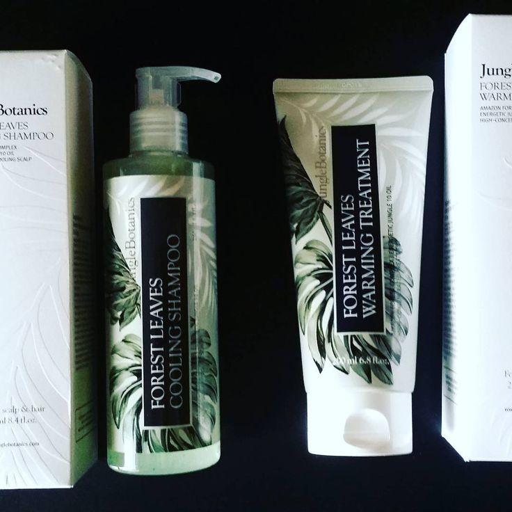 i just tried the shampoo today and the cooling effect is awesome ! #wishtrend #junglebotanics #forestleavescoolingshampoo #shampoo #kbeauty #siliconfree #phtalatefree #menthol #blog