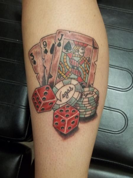 1000 images about poker tattoos on pinterest gambling for Tattoo in las vegas