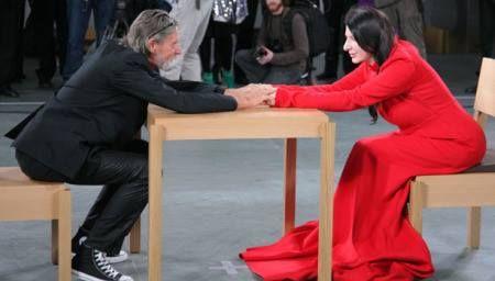 """The artist is present"" #MarinaAbramović e #Ulay"