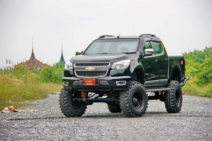 Chevy Colorado Lifted Extended Cab