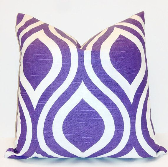 Purple Pillow Cover-Accent-10 Sizes Available-Throw Pillow