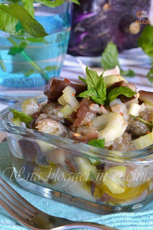 Insalata di melanzane alla siciliana