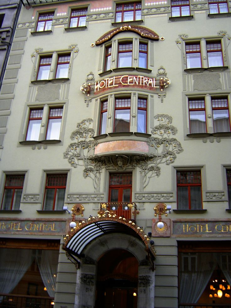 Art Deco Hotel in Prague. A modern hotel in the centre of Prague. #hotelinteriordesigns
