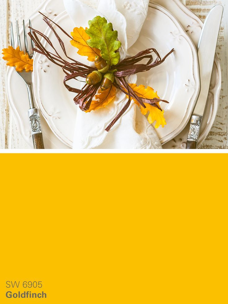 Sherwin Williams Yellow Paint Color Goldfinch Sw 6905