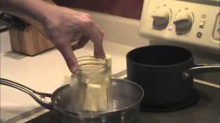 MASON JAR Cannabutter : Best Method - Theweedscene.com  ( MARIJUANA CANNABIS )