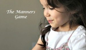 Pass the Manners, Please!