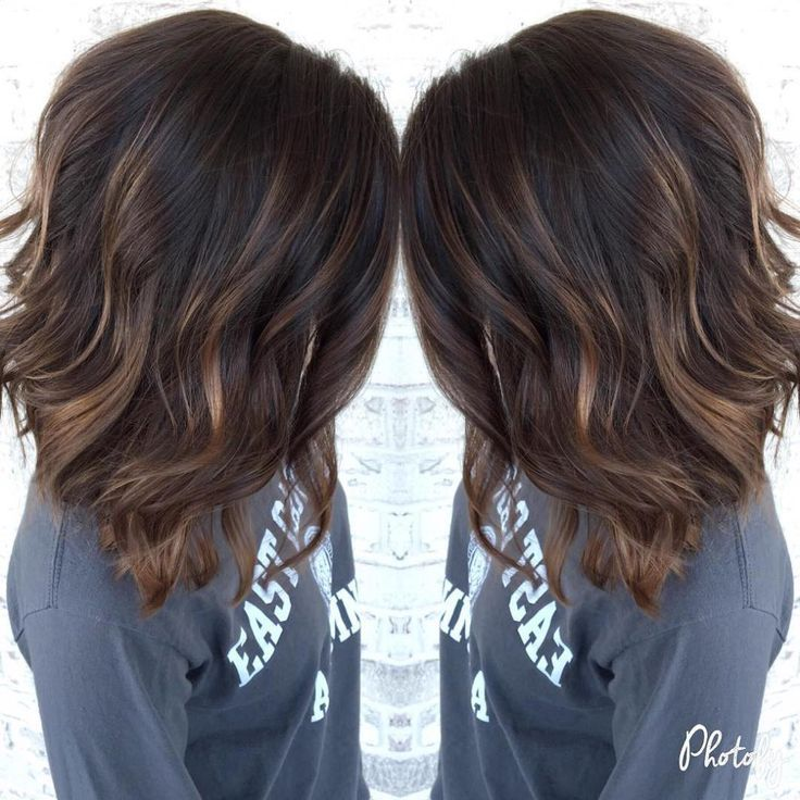 The 25 best short dark brown hair with caramel highlights ideas 90 balayage hair color ideas with blonde brown and caramel highlights dark brown hair with subtle chocolate highlights pmusecretfo Images