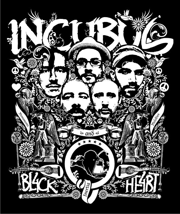 16 Best Incubus Images On Pinterest Concert Posters Gig