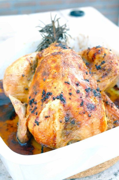 Hemelse gebraden kip - Lovemyfood.nl