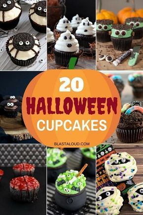 20 Easy Halloween Cupcake Decorating Ideas For Kids And Adults Alike - wilton halloween cupcake decorations
