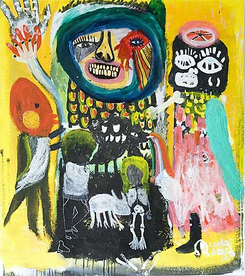 Brazilian artist Carlos Dias