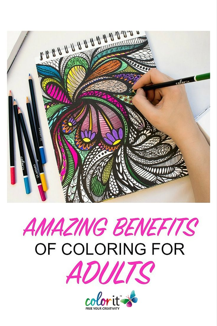 Colouring for adults benefits - Amazing Benefits Of Coloring For Adults