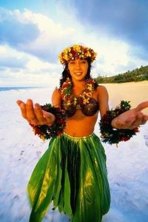 Гавайский костюм питер