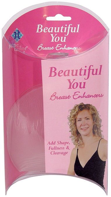 June Tailor Clear -Breast Enhancers, Women's, Breast Enhancing Inserts