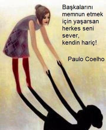 ✔Başqalarını məmnun etmək üçün yaşasan hər kəs səni sevər, özün istisna! #Paulo_Coelho
