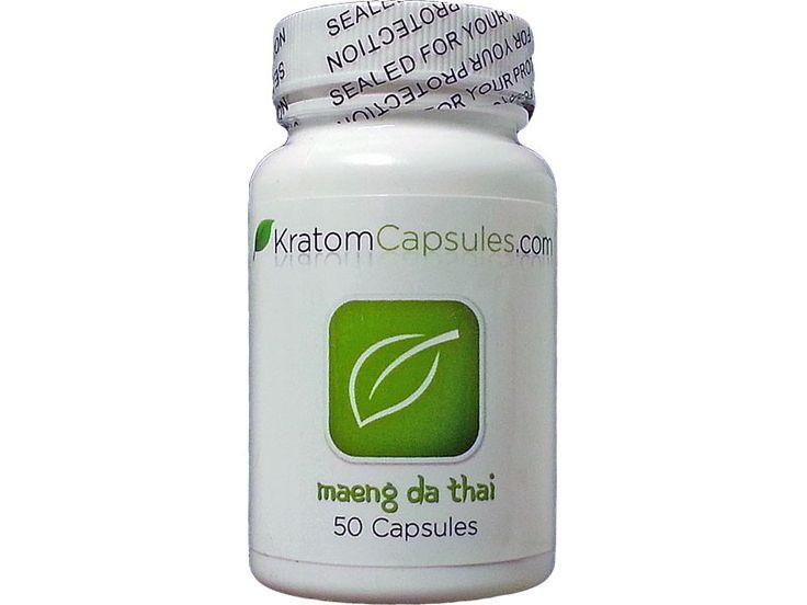 Maeng Da Thai Kratom (50 Capsules) $20.99