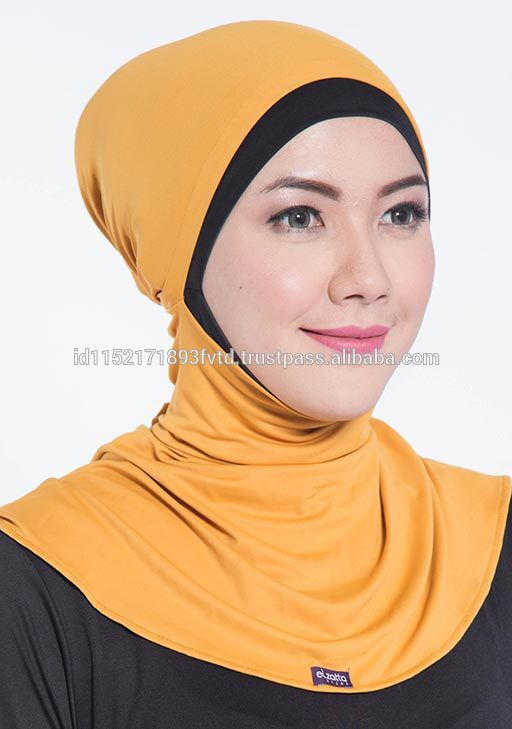 New Model Ninja Underscarf Elzatta Ciput Maroko Freesia Mustard Hijab For The World