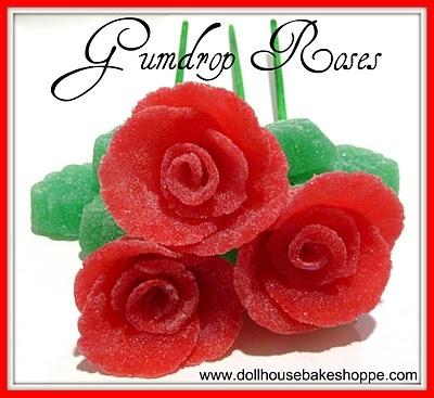 how to make a candy gumdrop flower bouquet