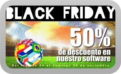 #BlackFriday #Software #Fútbol #Apuestas #Quiniela #Lotto ► 50% de descuento hasta el próximo domingo. http://www.losmillones.com/software/ [RT por favor]
