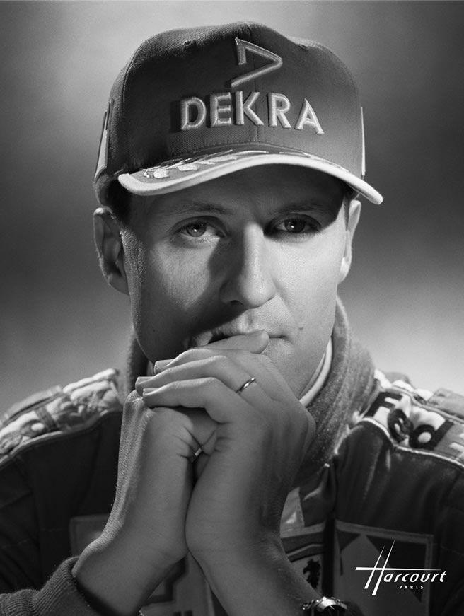 studio harcourt   Lifestyle STUDIO HARCOURT Michael Schumacher http://www.voiturepourlui ...
