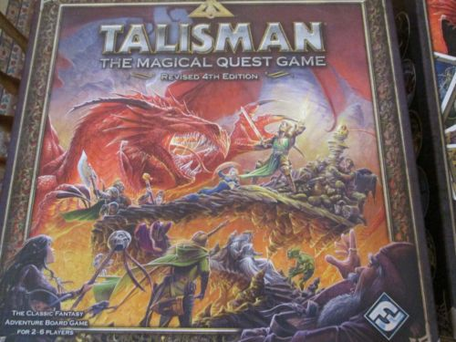 TALISMAN-Complete-NEW-Revised-4th-Edition-Games-Workshop-FREE-SHIPPING