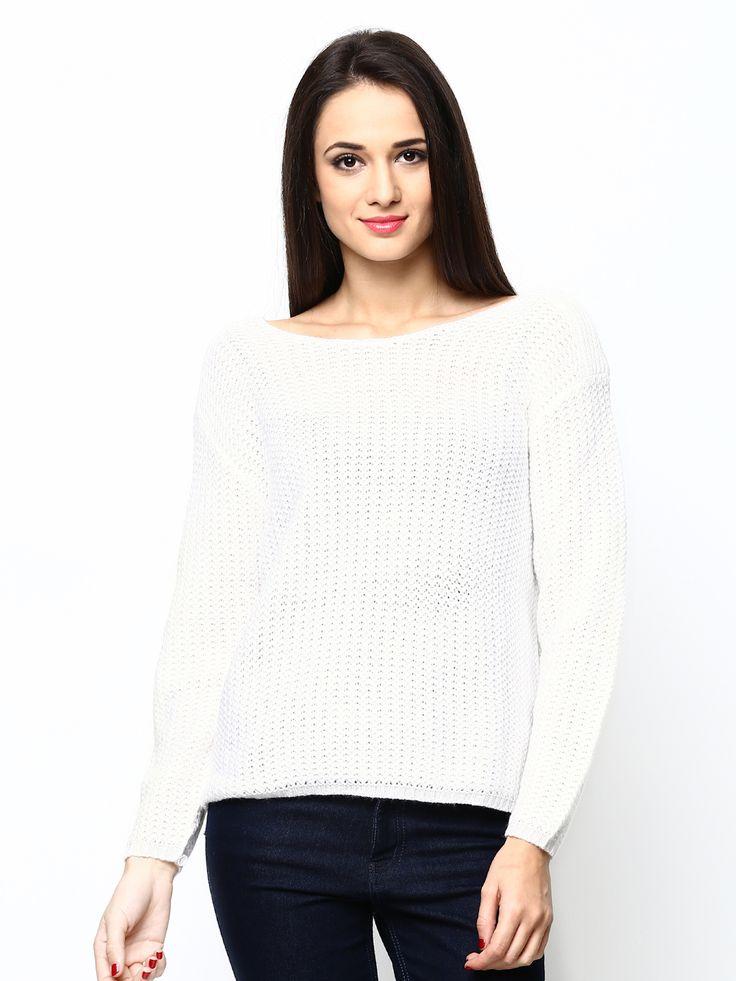 Women-white-sweater