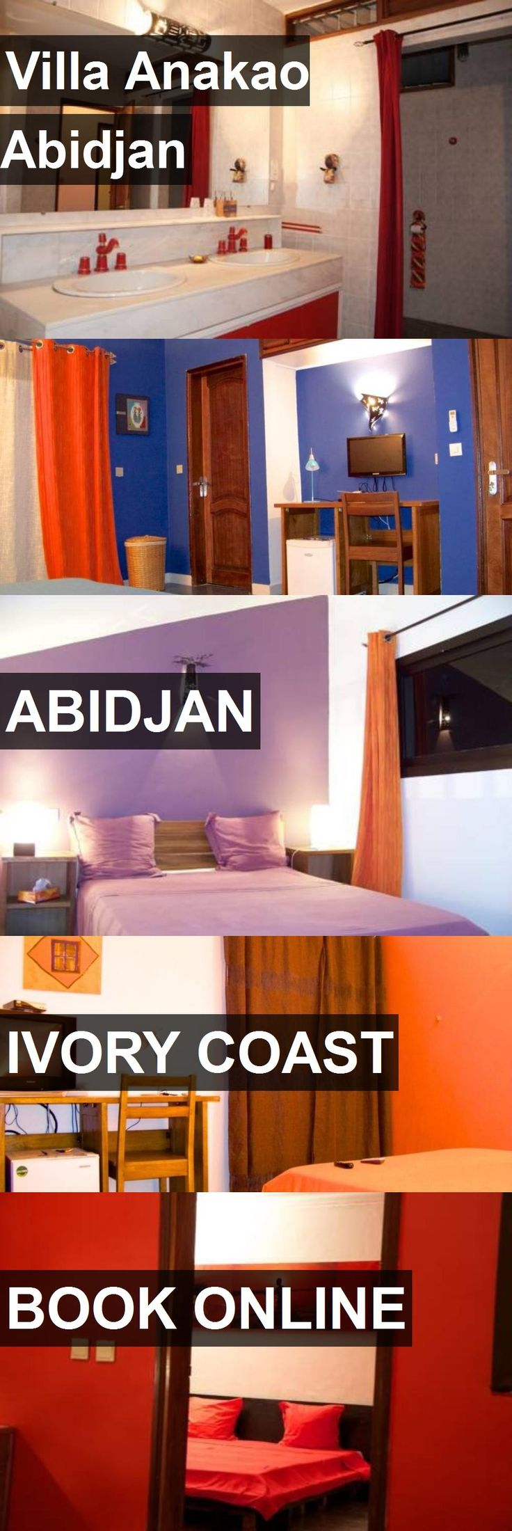 Hotel Villa Anakao Abidjan in Abidjan, Ivory Coast. For more information, photos, reviews and best prices please follow the link. #IvoryCoast #Abidjan #VillaAnakaoAbidjan #hotel #travel #vacation
