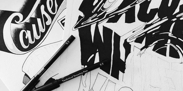 Ironlak Technical Drawing Pens - Ironlak — Ironlak