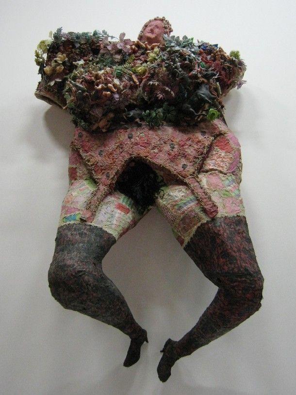 CRUCIFIXION by Niki de Saint Phalle