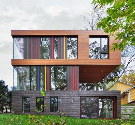 Redaction House, Oconomowoc, WI, USA by Johnsen Schmaling Architects