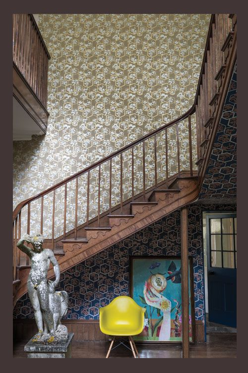 Home Inspiration: 4 Japanese Style Wallpaper Patterns   The Chromologist