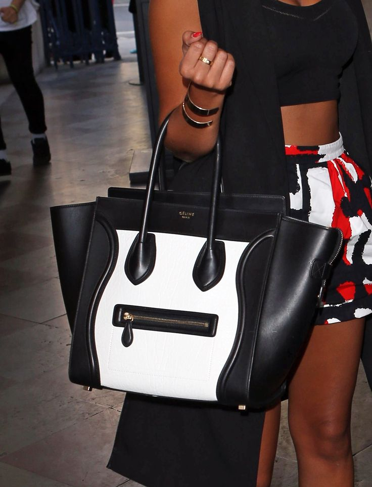 leigh-anne pinnock\u0026#39;s gorgeous colour-blocked celine tote. #bagporn ...