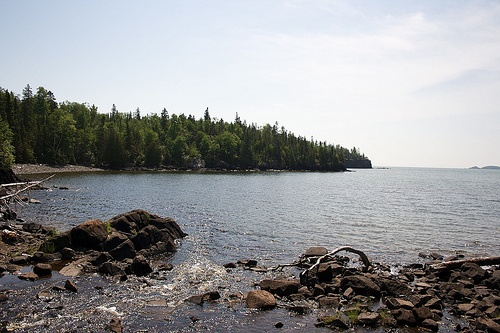 Old womans bay on Lake Superior, Ontario, Canada